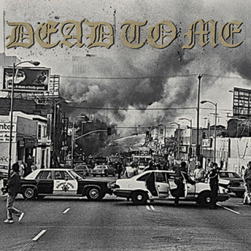 "FAT296-1 Dead To Me ""I Wanna Die In Los Angeles"" 7"" Album Artwork"