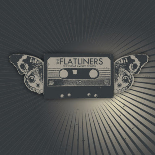 "FAT326-1 The Flatliners ""The Great Awake Demos"" 7"" Album Artwork"