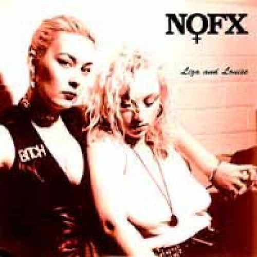 "FAT505-1 NOFX ""Liza & Louise"" 7"" Album Artwork"