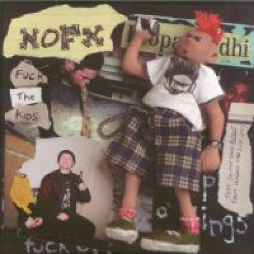 "FAT546-1 NOFX ""Fuck the Kids"" 7"" Album Artwork"