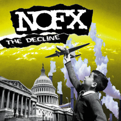"FAT605-1 NOFX ""The Decline"" 12""ep Album Artwork"