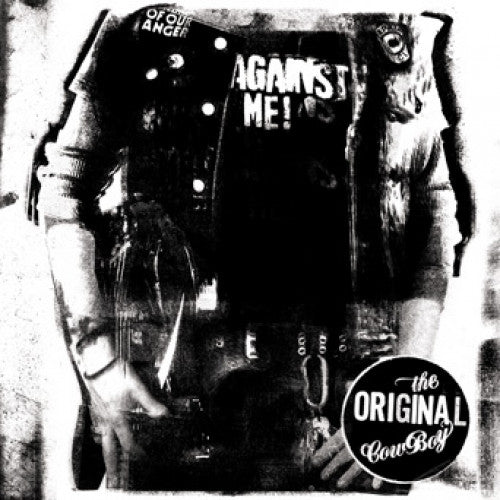 "FAT743-1 Against Me! ""The Original Cowboy"" LP Album Artwork"