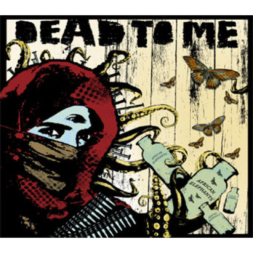 "FAT749-1 Dead To Me ""African Elephants"" LP Album Artwork"