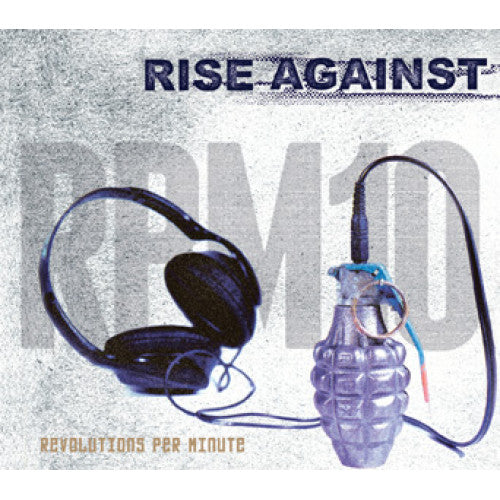 "FAT912-1 Rise Against ""Revolutions Per Minute"" LP  Album Artwork"