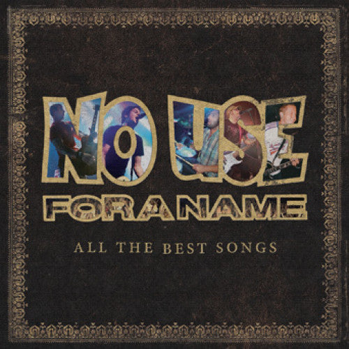 "FAT952-1 No Use For A Name ""All The Best Songs"" 2XLP Album Artwork"