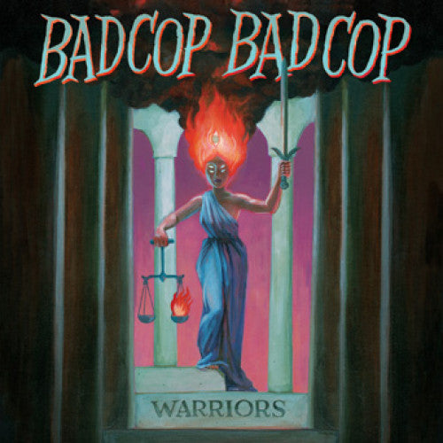"FAT979-1 Bad Cop/Bad Cop ""Warriors"" LP Album Artwork"