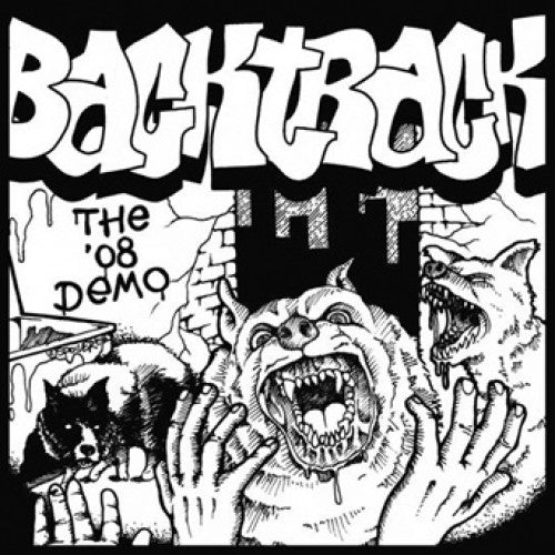"FLSP04-1 Backtrack ""The '08 Demo"" 7"" Album Artwork"