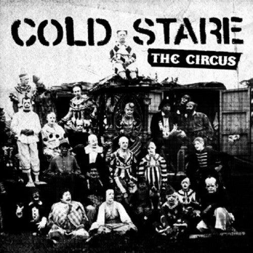 "FLSP08-1 Cold Stare ""The Circus"" 7"" Album Artwork"