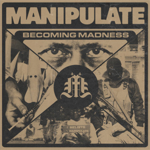 "FLSP17-1 Manipulate ""Becoming Madness"" 7"" Album Artwork"