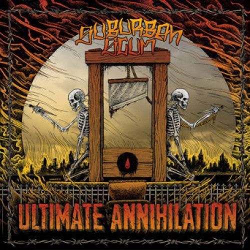 "FLSP20 Suburban Scum ""Ultimate Annihilation"" LP/CD Album Artwork"