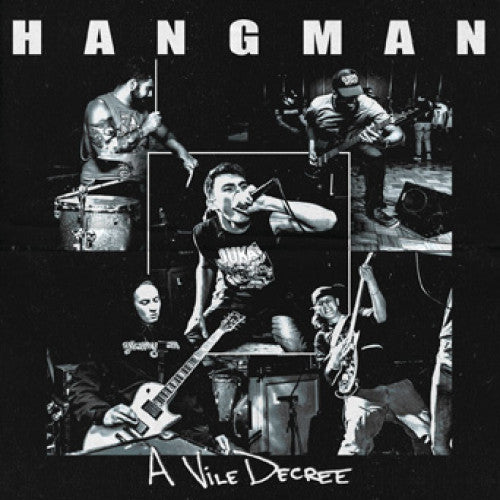 "FLSP34-1 Hangman ""A Vile Decree"" 7"" Album Artwork"