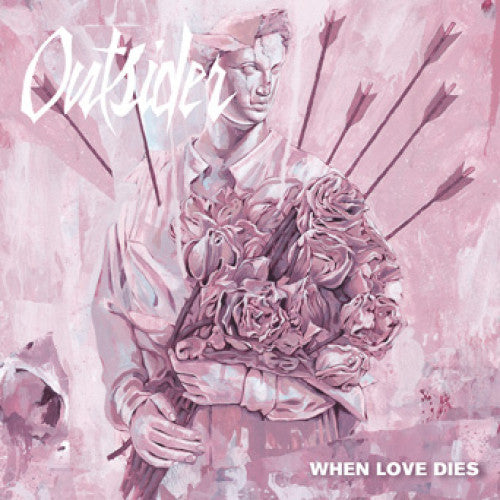"FLSP42-1 Outsider ""When Love Dies"" 7"" Album Artwork"