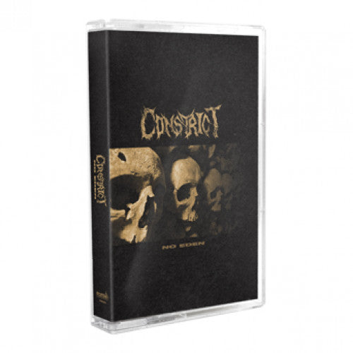 "FLSP50-4 Constrict ""No Eden"" Cassette Album Artwork"