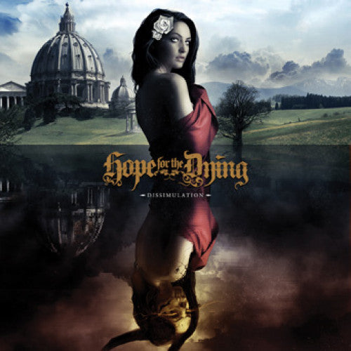 "FR102-2 Hope For The Dying ""Dissimulation"" CD Album Artwork"