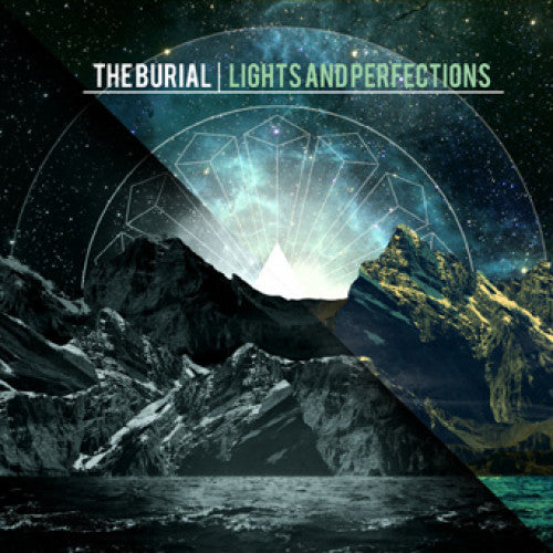 "FR112-2 The Burial ""Lights And Perfections"" CD Album Artwork"