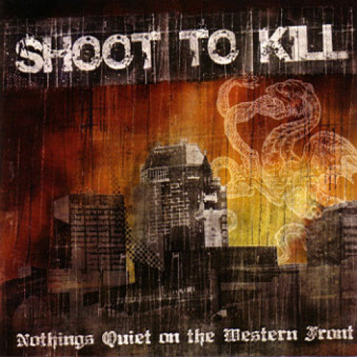 "FREQ052-4 Shoot To Kill ""Nothings Quiet On The Western Front"" Cassette Album Artwork"