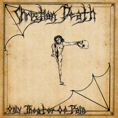 "FRO007-1/2 Christian Death ""Only Theatre Of Pain Remastered Edition"" LP/CD Album Artwork"