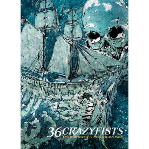 "FRT132-DVD 36 Crazyfists ""Underneath A Northern Sky"" -  DVD"