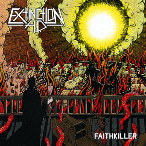 "GFM046-1 Extinction A.D. ""Faithkiller"" LP Album Artwork"
