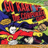 "GK021-2 V/A ""Go Kart Vs. The Corporate Giant"" CD Album Artwork"