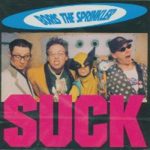 "GK045-2 Boris The Sprinkler ""Suck"" CD Album Artwork"