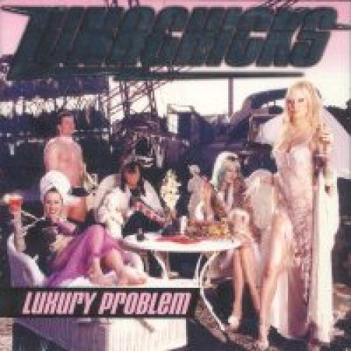 "GK051-2 Lunachicks ""Luxury Problem"" CD Album Artwork"