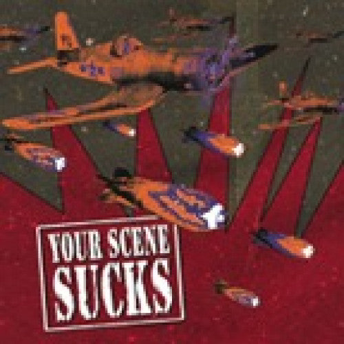 "GK088-2 V/A ""Your Scene Sucks"" CD Album Artwork"