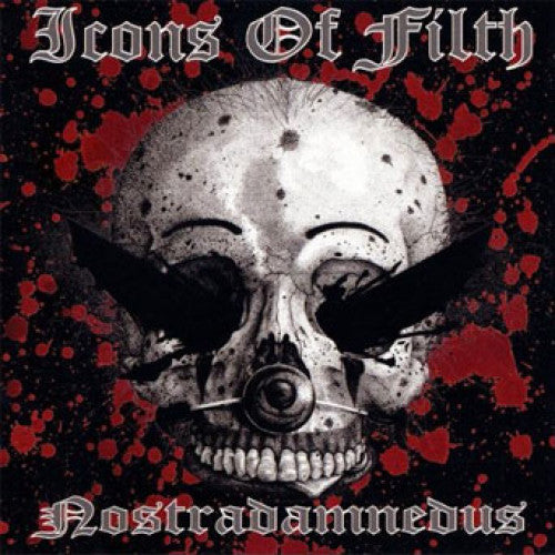 "GK090-2 Icons Of Filth ""Nostradamnedus"" CD Album Artwork"