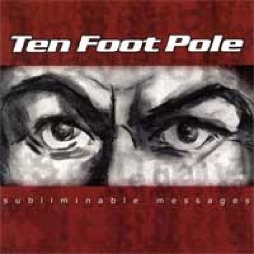 "GK108-2 Ten Foot Pole ""Subliminable Messages"" CD Album Artwork"