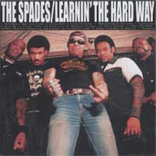 "GK110-2 The Spades ""Learning The Hard Way"" CD Album Artwork"
