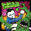 "GK123-2 V/A ""Go-Kart Vs. The Corporate Giant 4"" CD Album Artwork"