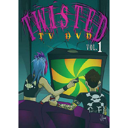 "GK126-DVD V/A ""Twisted TV DVD Vol. 1"" - DVD"