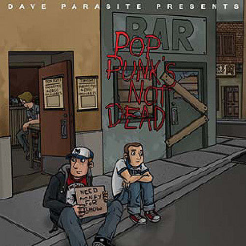 "GK127-2 V/A ""Pop Punk's Not Dead"" CD Album Artwork"
