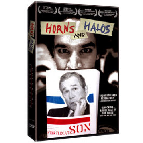 "GKDVD04-DVD Horns And Halos ""A Film By Suki Hawley And Michael Galinsky"" -  DVD"