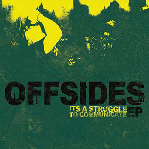"GOOT15-2 Offsides ""It's A Struggle To Communicate"" CD Album Artwork"