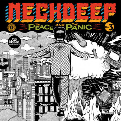 "HR2394-1 Neck Deep ""The Peace And The Panic"" LP Album Artwork"