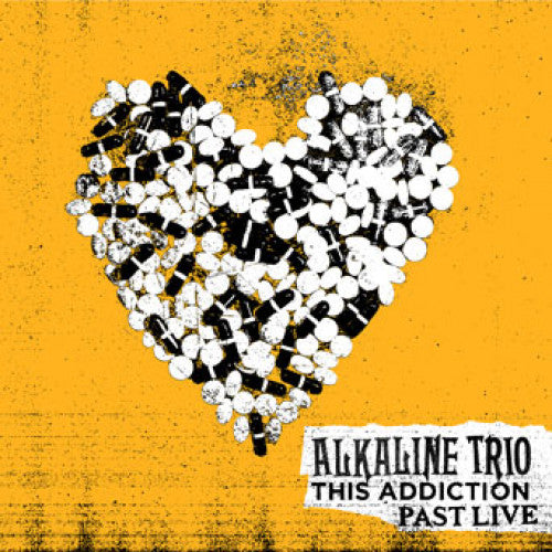 "HS008-1 Alkaline Trio ""This Addiction Past Live"" LP Album Artwork"