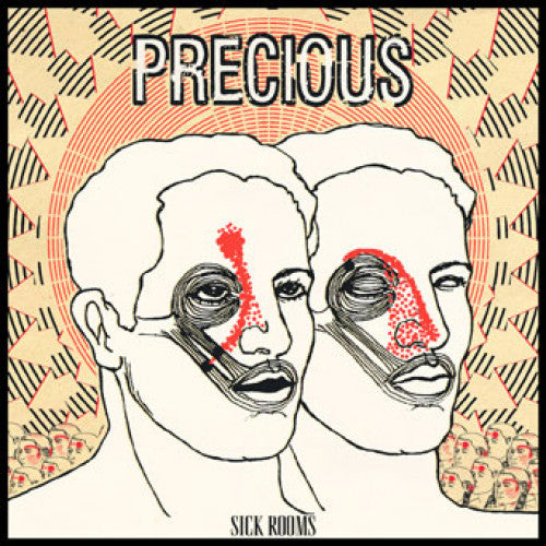 "IND109-1 Precious ""Sick Rooms"" LP Album Artwork"