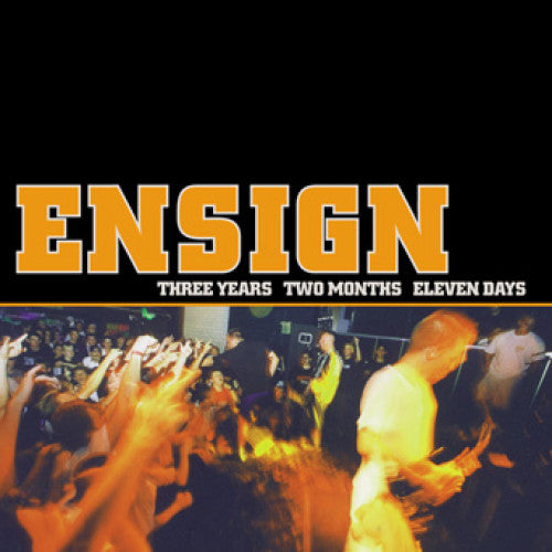 "IND25-2 Ensign ""Three Years Two Months Eleven Days"" CD Album Artwork"
