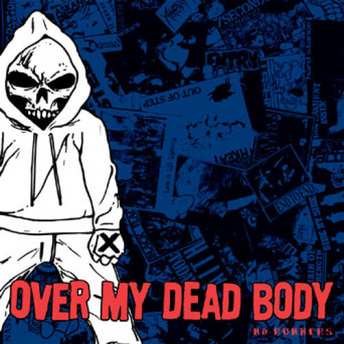 "IND39-2 Over My Dead Body ""No Runners"" CD Album Artwork"