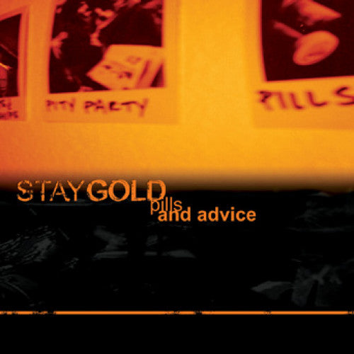 "IND51-2 Stay Gold ""Pills And Advice"" CD Album Artwork"