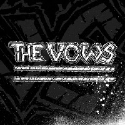 "IND75-1 The Vows ""s/t"" 7""ep Album Artwork"