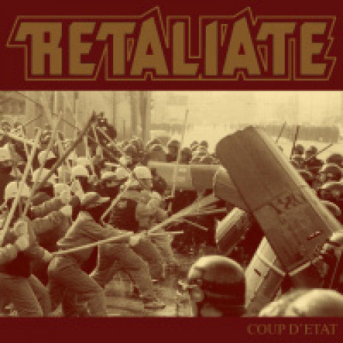"IND79 Retaliate ""Coup D'Etat"" LP/CD Album Artwork"