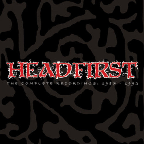 "IND90-1 Headfirst ""The Complete Recordings: 1987-1992"" 3xLP Album Artwork"