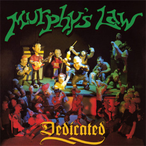 "ISCR770-1 Murphy's Law ""Dedicated"" LP Album Artwork"