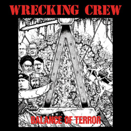 "ISCR854-1 Wrecking Crew ""Balance Of Terror"" LP Album Artwork"