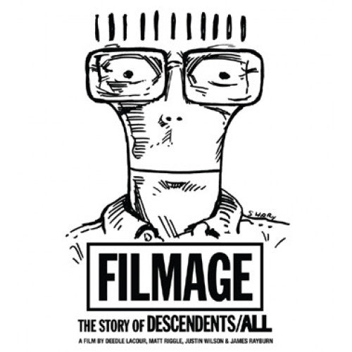 "KRD10223-BRDVD Descendents ""Filmage: The Story Of Descendents/All"" -  Blu-Ray+DVD (Bonus Cut)"