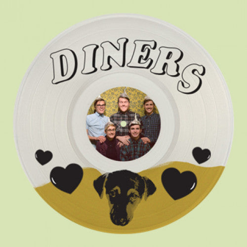 "LAUR056-1 Diners ""Throw Me A Ten"" 12""ep Album Artwork"