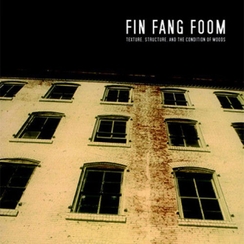 "LOV026-1/2 Fin Fang Foom ""Texture, Structure, And The Condition Of Moods"" LP/CD Album Artwork"