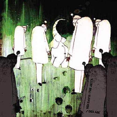 "LOV053-2 Ben Davis And The Jetts / Des Ark ""Battle Of The Beards (Split)"" CD Album Artwork"